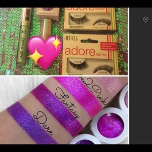 COLOURPOP and gloss makeup lot